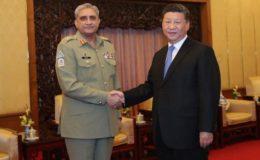 جنرل قمر جاوید باجوہ پاکستان آرمی کے زبردست سپہ سالار ہیں: چین