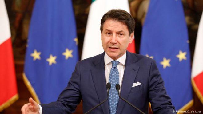اٹلی میں سیاسی بحران: وزیر اعظم کونٹے کا مستعفی ہونے کا اعلان