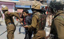 مقبوضہ کشمیر میں کرفیو کا چوتھا دن، مزید 500 افراد گرفتار