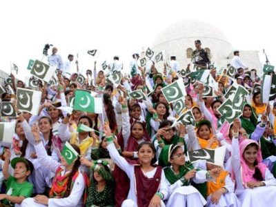 Jashn e Azadi Celebrated