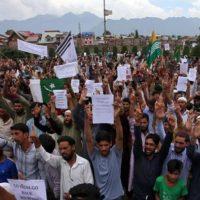 Kaschmir Protest