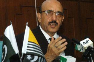 کشمیر میں بھارتی فوجیوں کا قبرستان بنا دیں گے، صدر آزاد کشمیر