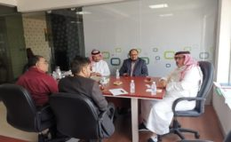 انجینئر افتخار چودھری نے ریاٹرڈ جرنیل ڈاکٹر محمد مصطفی الجہنی سے ملاقات کی