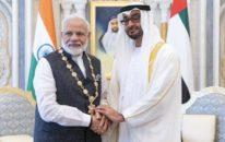 امارات نے مودی کو اعلیٰ ترین سول اعزاز سے نواز دیا