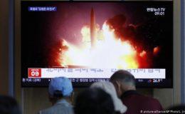 شمالی کوریا کی طرف سے مزید میزائل تجربات