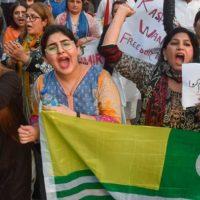 Pakistan Kaschmir Protest