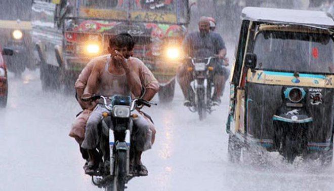 مون سون کا دوسرا سسٹم: کراچی سمیت سندھ کے مختلف شہروں میں تیز بارش