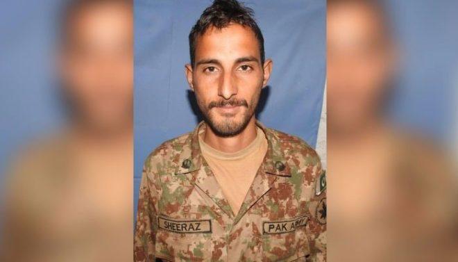 بھارتی فوج کی ایل او سی پر فائرنگ سے پاک فوج کا ایک اور جوان شہید