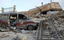 شامی دستوں کے حملے، جرمن امداد سے بنے طبی مراکز بھی زد میں