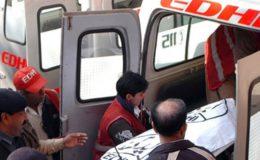 میرپور خاص میں میت لیکر جانے والے باپ اور چچا بھی حادثے میں جاں بحق
