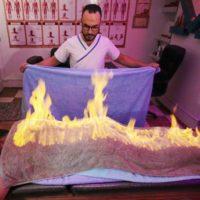 Fire Towels Massage