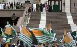 عمران خان کا جلسہ: کشمیری قوم پرست ناراض