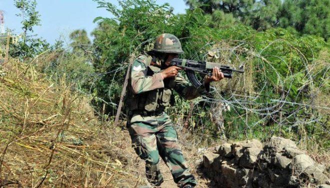 بھارتی فوج کی ایک بار پھر اشتعال انگیزی، ایل او سی پر فائرنگ سے پاک فوج کا جوان شہید