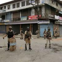 Kashmir Curfew