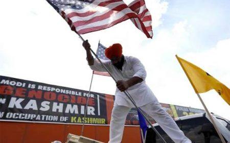 کشمیریوں پر بھارتی مظالم کیخلاف مظاہرے، برطانیہ، آئرلینڈ اور امریکہ میں ریلیاں