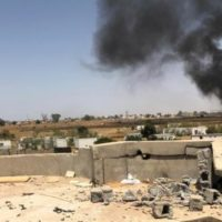 Libya Warplanes Attacks