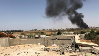 Libya Warplanes Attacks