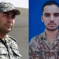Major Adeel and Soldier Faraz