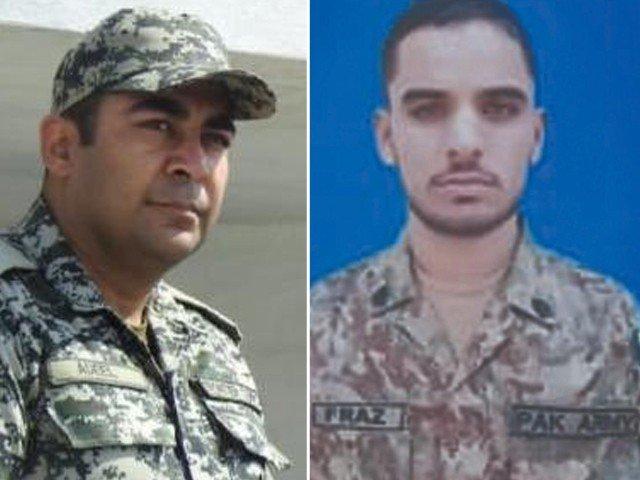 پاک افغان سرحد پر بارودی سرنگ کا دھماکا، پاک فوج کا میجر اور سپاہی شہید