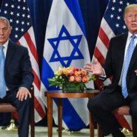 Netanyahu - Donald Trump