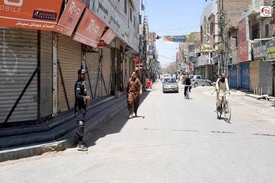 کوئٹہ: مولانا محمد حنیف کے قتل کے خلاف شہر میں شٹر ڈاون ہڑتال