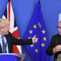 Boris Johnson and Jean-Claude
