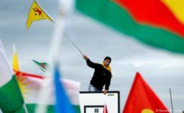 یورپ میں کردوں سے اظہار یکجہتی،  جنگ نہیں چاہتے