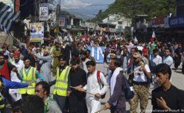 پاکستانی زیر انتظام کشمیر میں خودمختاری کی زور پکڑتی تحریک