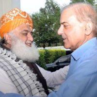 Fazl-ur-Rehman and Shahbaz Sharif