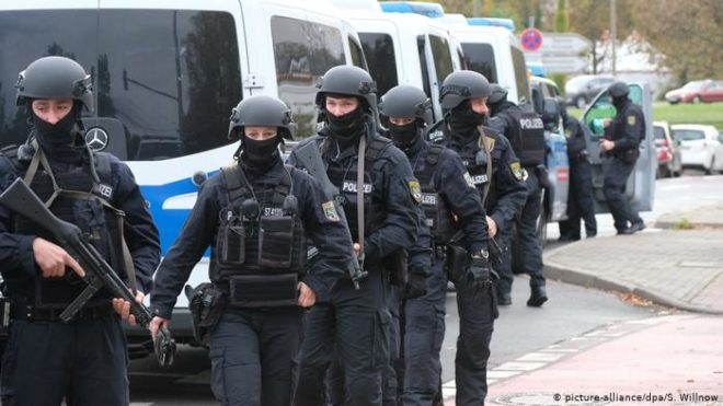 جرمن شہر ہالے میں فائرنگ، دو افراد ہلاک