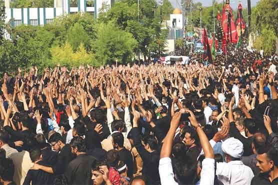 شہدائے کربلا کا چہلم آج عقیدت و احترام سے منایا جا رہا ہے، ملک بھر میں سکیورٹی سخت