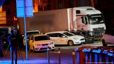 Limburg Trucks Cars Accident