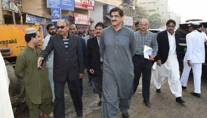 وزیراعلیٰ سندھ کا کراچی کا 70 فیصد کچرا صاف کرنے کا دعویٰ