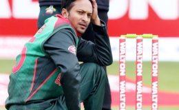 بنگلادیش کے کپتان شکیب الحسن پر پابندی عائد