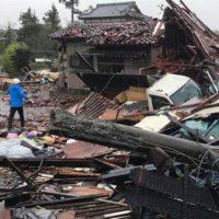 Storm in Japan