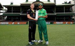 پاکستان اور آسٹریلیا کے درمیان پہلا ٹی ٹوئنٹی بارش کے باعث بے نتیجہ ختم