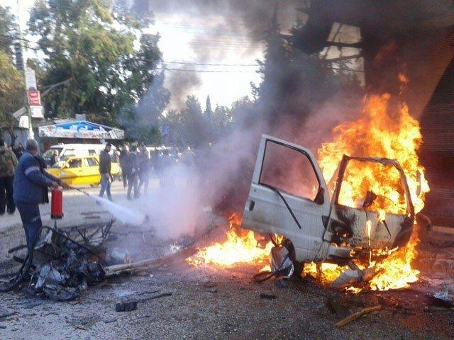 ترکی کے زیر انتظام شامی شہر میں کار بم دھماکا، 14 افراد ہلاک