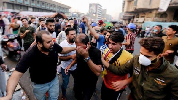 بغداد میں تحریراسکوائر کے نزدیک فائرنگ سے مزید چھ مظاہرین ہلاک، 80 زخمی