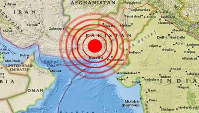 خضدار اور اس کے گرد و نواح میں زلزلے کے جھٹکے