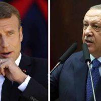 Emmanuel Macron - Rajab Tayyab Erdogan