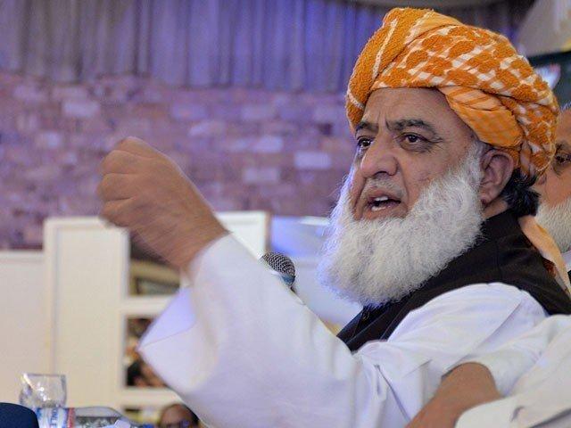 حکومت کی جڑیں کٹ گئیں اب ایک جھٹکے سے ختم ہو جائیگی، فضل الرحمان
