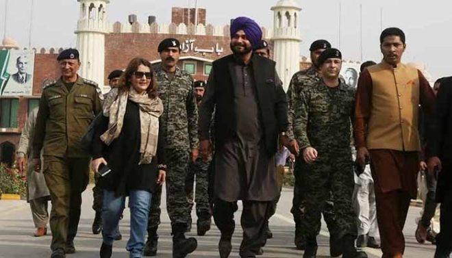 بھارت نے نوجوت سدھو کو واہگہ کے راستے پاکستان آنے سے روک دیا