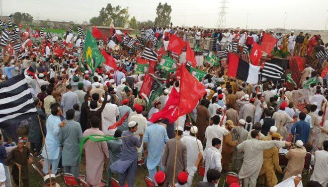 اپوزیشن کی رہبر کمیٹی کا ملک بھر میں احتجاجی مظاہروں کا اعلان