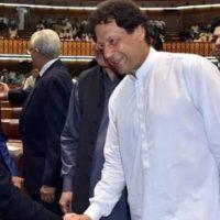 Shahbaz Sharif - Imran Khan