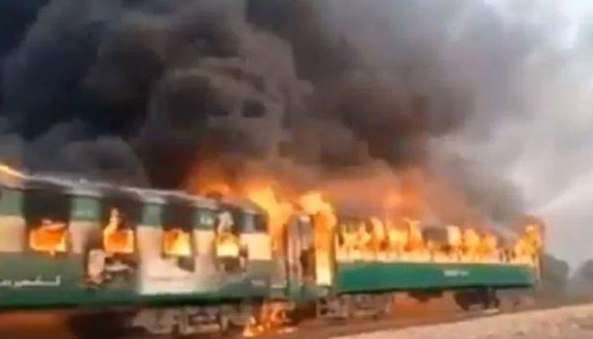 ٹرین میں آگ کیسے لگی؟ تیز گام کے ڈرائیور نے وجوہات بتا دیں