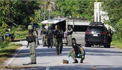 Thailand - Check Post Attack