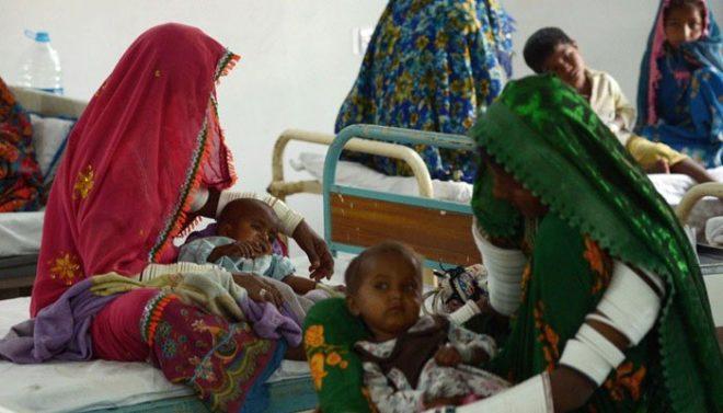 تھرپارکر؛ غذائی قلت و دیگر امراض کے باعث ایک ماہ میں 84 بچے جان کی بازی ہار گئے