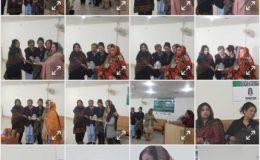 پشاور میں خواتین لکھاریوں کی معروف تنظیم کاروان حوا نے ایک بھرپور ادبی نشست کا اہتمام کیا