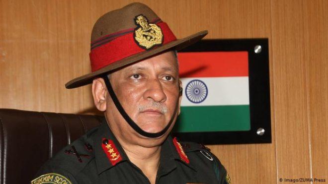 جنرل بپن راوت بھارت کے پہلے چیف آف ڈیفنس اسٹاف نامزد