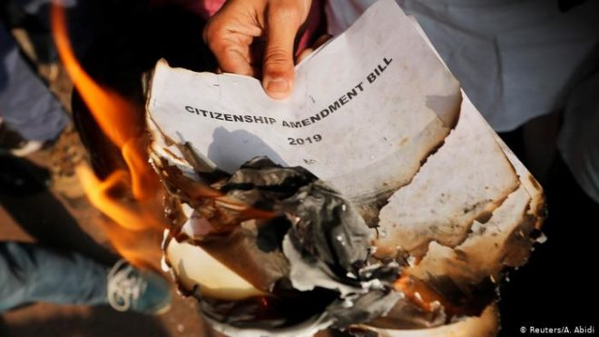 بھارت: شہریت بل کے خلاف ملک بھر میں احتجاجی مظاہرے